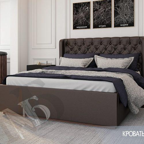 """Кровать """"Франческа"""" 1,6 под настил"""