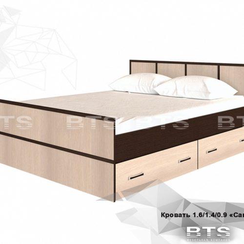 """""""Сакура"""" кровать 1,4м"""