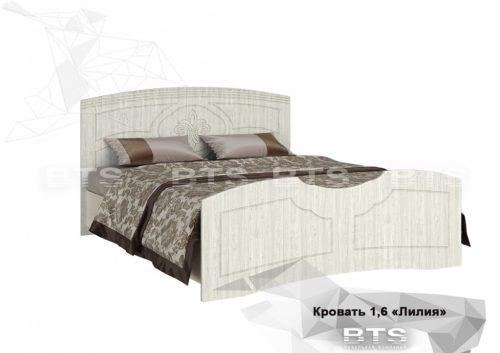 """""""Лилия"""" МДФ кровать 1,6м"""