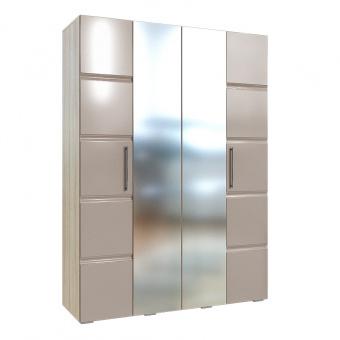 Шкаф для одежды 4-х дверный София (Латте)