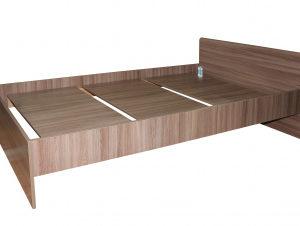 Кровать Стандарт 900х1900 (ясень шимо темный)