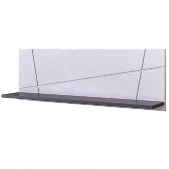 Полка Лея (серый графит)