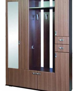 Шкаф в прихожую Визит (венге)