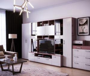 """Комплект мебели в гостиную """"Колибри-1"""""""