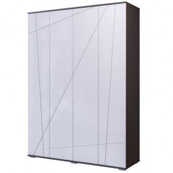 Шкаф 4-х дверный Лея (серый графит)