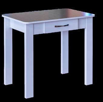 Стол обеденный с ящиком №3 (пл. Шотландка ночь)