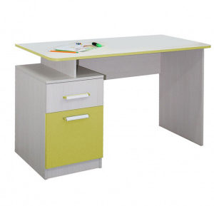 Стол письменный Скейт 5 (бодега св.+лайм)