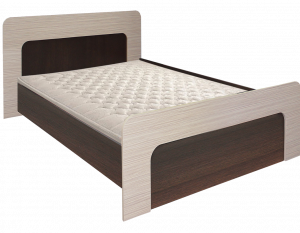 Кровать 1600х2000 Колибри 1(венге+зебрано сахара)