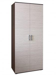 Шкаф для белья 2х дверный Колибри1 (венге+зебрано сахара)
