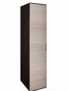Шкаф для одежды Колибри 1(венге+зебрано сахара)