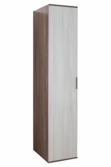 Шкаф для белья Колибри 1(ясень шимо тем+ясень шимо св)