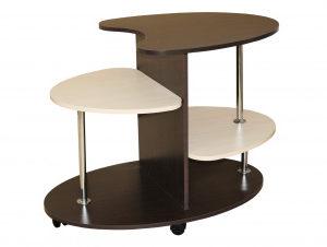 Стол сервировочный ( венге+дуб девонширский)