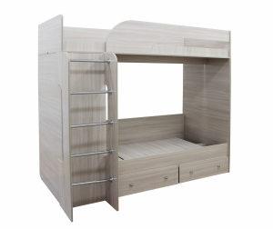 Кровать Катюша-1 (ясень шимо светлый)