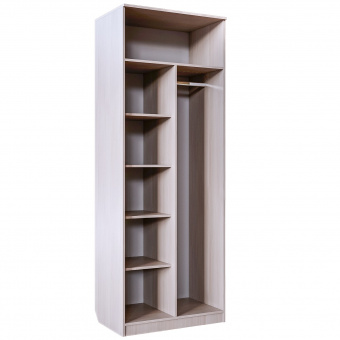 Шкаф для одежды комбинир. Скейт 5 (бодега св.+синий)