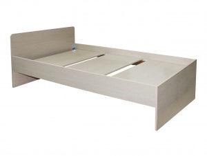 Кровать Стандарт 900х1900 (дуб молочный)