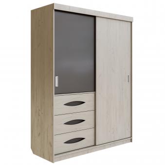 Шкаф для одежды Литисия (дуб крафт)