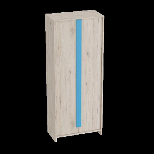 """Шкаф 2-дверный """"Скаут"""" Индиго"""