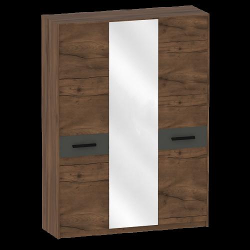 """Шкаф трёхдверный спальня """"Глазго"""""""