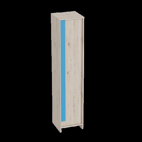 """Шкаф 1-дверный """"Скаут"""" Индиго"""