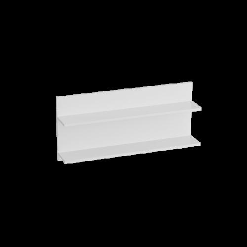 Полка «Кёльн» 980 Белый Аляска/ Белый глянец