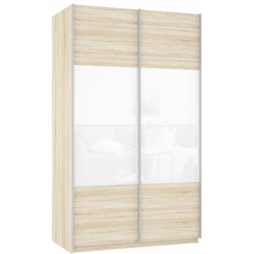 Прайм 2-х дверный (фасад дсп/стекло)