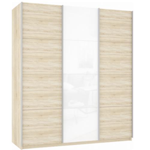 Прайм 3-х дверный (фасад 3-х дсп стекло дсп)