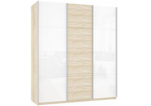 Прайм 3-х дверный (фасад 3-х стекло дсп стекло)
