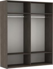 Эста 2-х дверный ДСП зеркало (фасад зеркало)