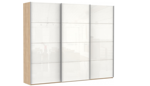 Эста 3-х дверный, 12 белых стекол